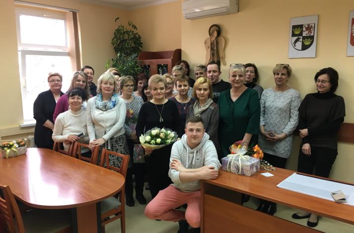 Przejście na emeryturę wieloletniego pracownika Miejskiego Ośrodka Pomocy Społecznej w Świdnicy