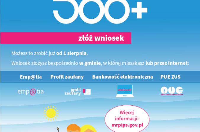 Informacje 500+/300+