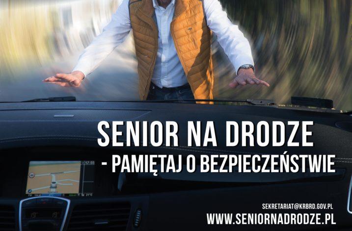 Senior na drodze – pamiętaj o bezpieczeństwie