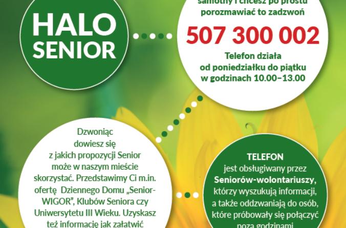 Świdnicki telefon zaufania dla seniorów