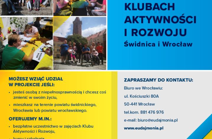 Klub Aktywności i Rozwoju w Świdnicy