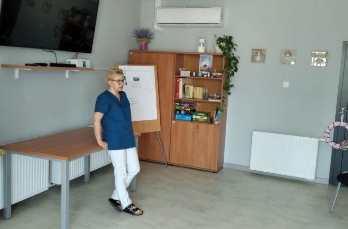 Spotkanie z podologiem w Klubie Senior+