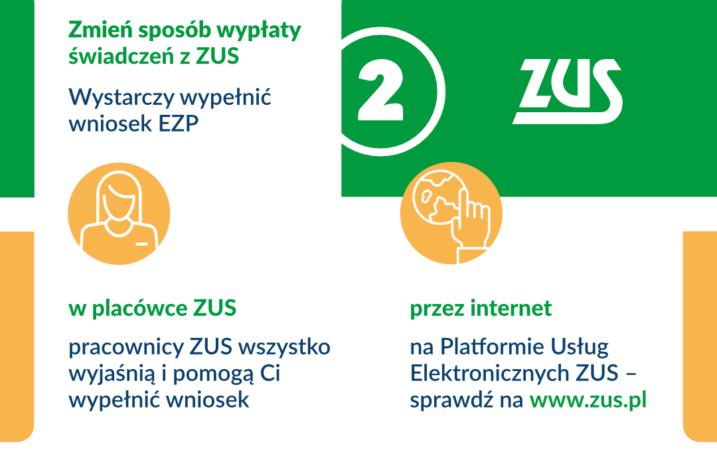 ZUS – kampania informacyjna dot. kont bankowych